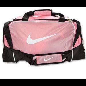 Nike Pink Gym Duffle Bag